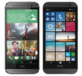 The-Android-based-One-M8-vs.-the-Windows-variant