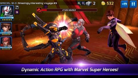 Ant-Man در آپدیت جدید بازی Marvel Future Fight