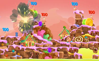 رونمایی از Worms 4 برای اندروید