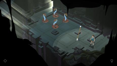 مهاجم مقبره به اندورید هجوم آورد | نقد و بررسی Lara Croft GO
