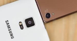 Xperia Z3 VS Note 4.4